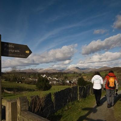 George Fisher Walk of the Month Hawkshead