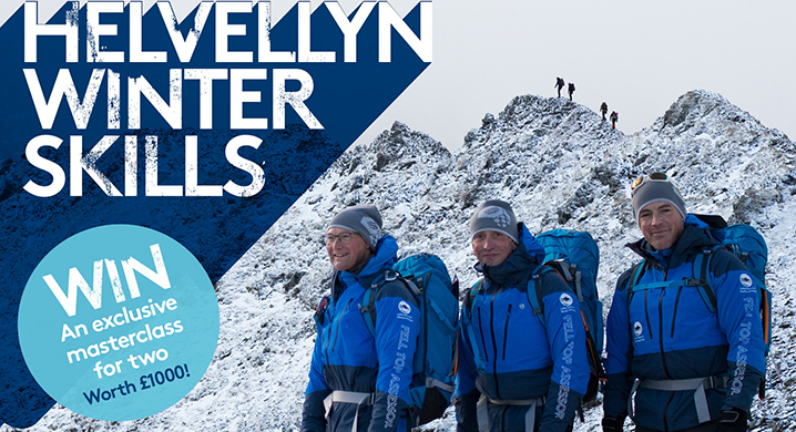 Helveyllyn winter skills - win an exclusive masterclass for two