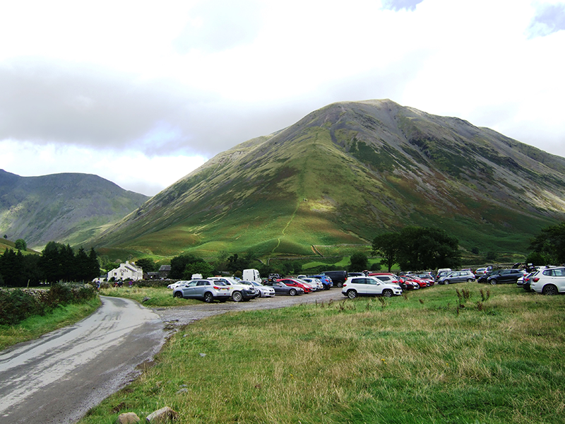 Wasdale head car park