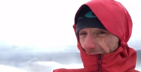 Wes Hunter climbing Helvellyn