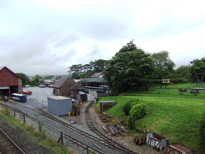 Ratty station at Ravensglass