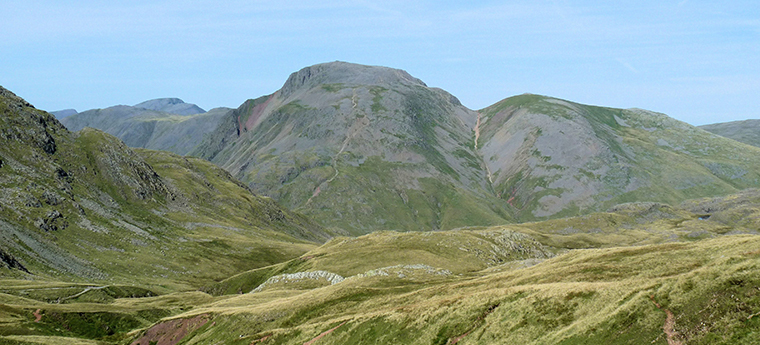 View of Great Gable and Green Gable