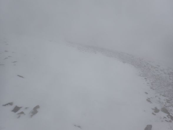 today's weather conditions on Helvellyn
